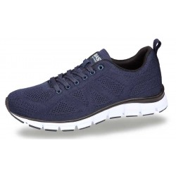 BORAS Navyblå sneakers