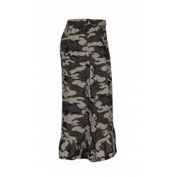 ZE-ZE nederdel med army print
