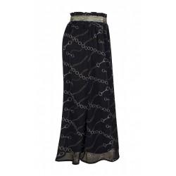 ZE-ZE Nederdel med kæde print