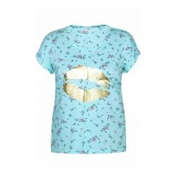 ZHENZI Bluse med print
